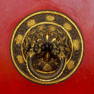 Tibetan door knocker