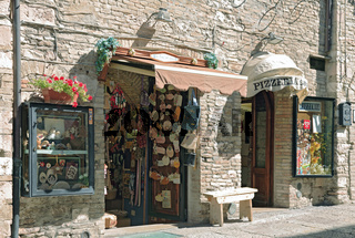 Altstadtgasse in Assisi