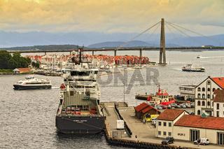 Harbour Entrance Stavanger Norway
