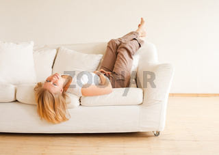 Cute Girl Relax