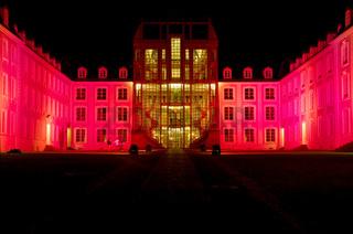 Illumination  am Schloss, Saarbrücken, D
