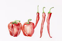 Dancing peppers