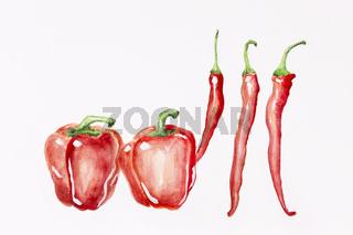 Dancing peppers
