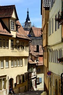 Gasse in Tübingen