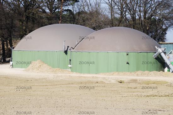 Biogas production
