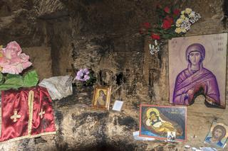 Agia Solomoni Catacombs Paphos Cyprus