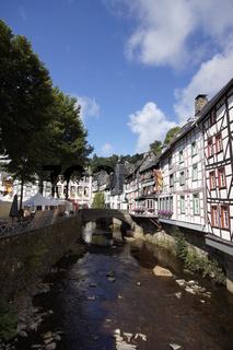Impressionen aus der Stadt Monschau, NRW, Deutschland