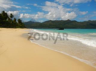 Rincon beach, Samana peninsula