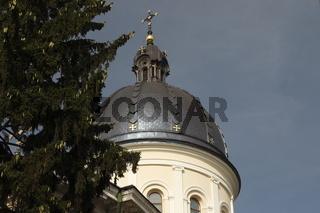 Church of Transfiguration (Cerkiew Przemienienia Pańskiego / Преображенська церква) in the Old Town of Lviv (Lwów)