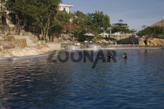 Cong Cau-Resort, in der Nähe von Mui Ne, Vietnam, Asien