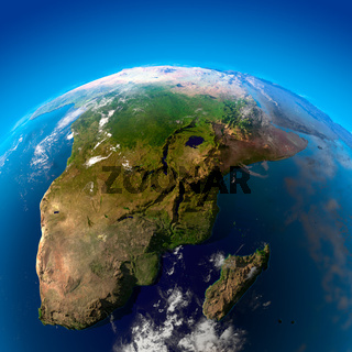 Beautiful Earth - South Africa and Madagascar from space