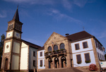 Rathaus, Keskastel, Krummes Elsass, Frankreich