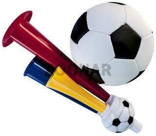 Fussball-Horn
