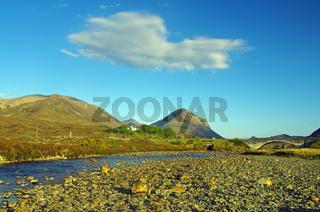 Traumwetter auf der Insel Skye