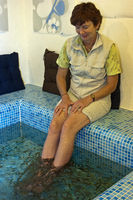fish pedicure with doctor fish, Hong Kong