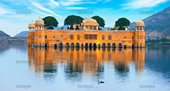 Water Palace at day - Jal Mahal Rajasthan, Jaipur, India