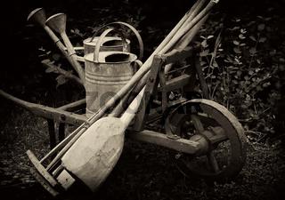 altes Gartenwerkzeug