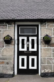 Front door, Scotland, UK