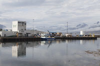 Fishing port of Djúpivogur, Iceland