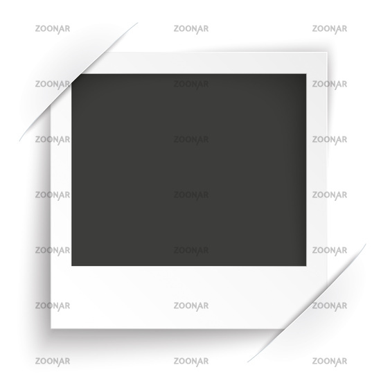 Convert Instant Photo Frame White Background