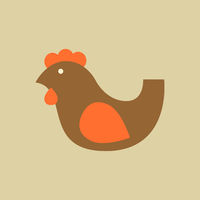 Chiken. Food Flat Icon
