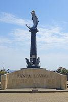 Delfin - Statue,  Lovina Beach, Nordbali, Bali, Indonesien