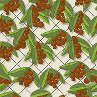 Coffee brunch pattern