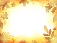 Autumn theme background 9 - picture illustration.