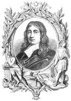 John Milton, 1608 - 1674, an English poet