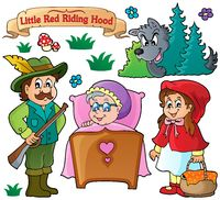 Fairy tale theme collection 1 - picture illustration.