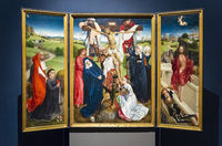 Triptych with the Cross