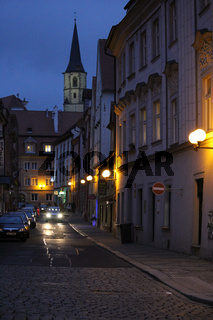 Gasse in Cheb