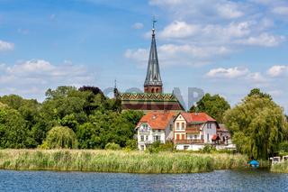 Kirchendach in Geltow