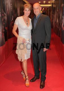 Sonja Zietlow und Ehemann Jens Oliver Haas beim 7.GRK Golf Charity Masters 2014 in Leipzig