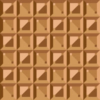 Seamless pattern - geometric vintage square texture. Polygonal brown graphic background