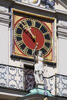 Lüneburg - Town hall clock