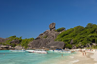 Ao Kueak Beach, National Park Mu Ko Similan,Thai ,
