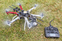 hexacopter drone with camera