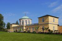 Hanover - Library Pavilion on the Berggarten