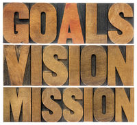 goals, vision and mission