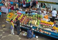 Fruit stall, Almaty, Kazakhstan