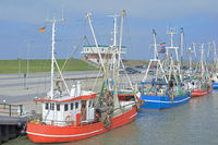 Crab Fishing Boats,Dornumersiel,German North Sea