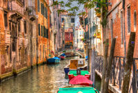 Little Waterway in Venice, Italy