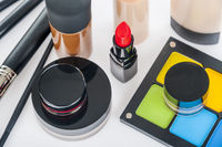 Set of professional makeup