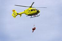 Rettungshubschrauber Eurocopter EC135 T2+ des Universitätsspitals Genf