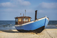 Blaues Fischerboot | Blue fishing boat