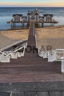Seebrücke Sellin, Deutschland   Sellin Pier, Germany