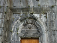 A close up of the Akhtala Monastery Doorway