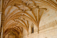 Internal architecture of the Mosteiro Dos Jeronimos