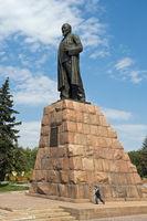 Abai Kunanbaev monument, Almaty, Kazakhstan